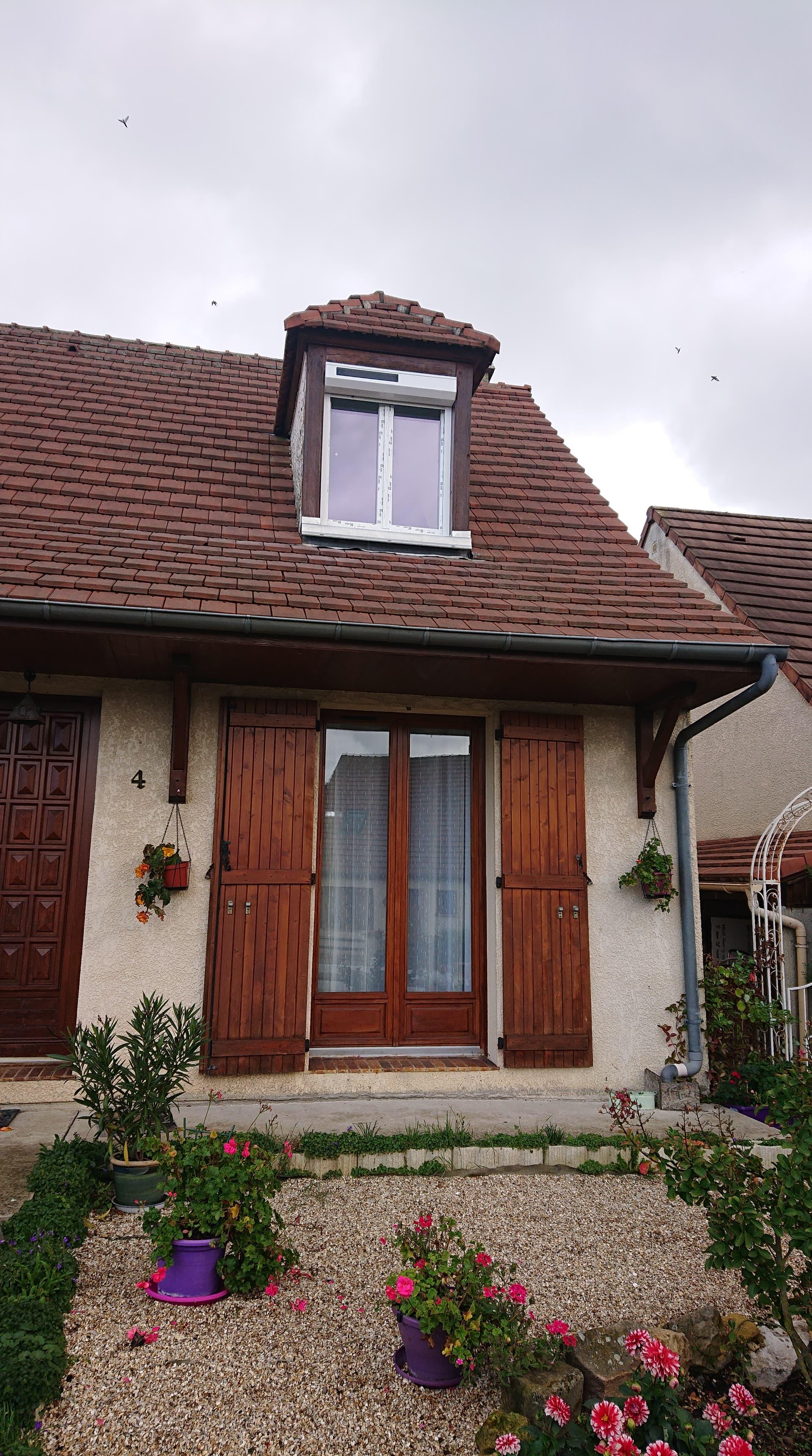 Fenêtre en rénovation PVC