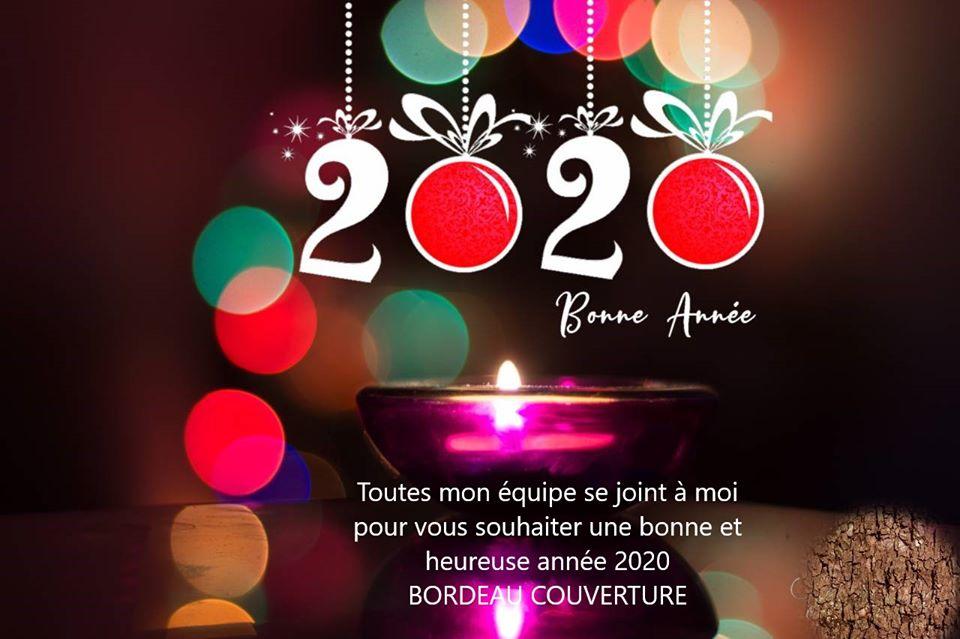 Bonne année 2020 à tous !